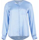 Due Amanti Josette lichtblauw blouse