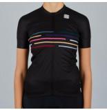 Sportful Fietsshirt women vélodrome short sleeve jersey black