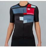 Sportful Fietsshirt women idea jersey black