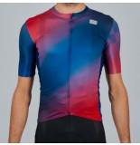 Sportful Fietsshirt men rocket jersey blue red