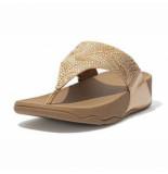 FitFlop Women lulu crystal feather wide fit toe