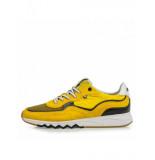Floris van Bommel Artikelnummer 16392/05 sneaker geel met zwarte accenten