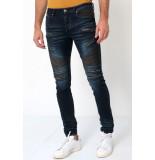 True Rise Biker jeans slim fit 3025