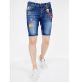 Local Fanatic Denim shorts slim fit 1049