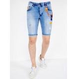 Local Fanatic Skinny jeans short 1040