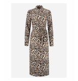 Fifth House Fifth house starla dress fh 5-213 2104 latte panther