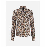 Fifth House Fifth house starla blouse fh 6-214 2104 latte panther