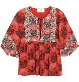 Ba&sh Garry oranje blouse