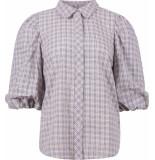 Co'Couture Shirt km casual blauw