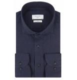 Profuomo Sky blue slim fit overhemd met lange mouwen