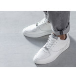 Rehab Grijze witte sneakers thabo calf