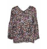Soaked in Luxury 30405509 slkimaya blouse.
