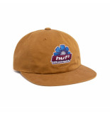 HUF Cappello unisex 100% pure 6 panel toffe ht00525.toffe