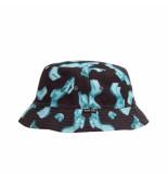 HUF Cappello unisex her reversible bucket hat ht00534.blk