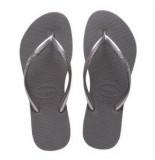 Havaianas Slipper kids slim steel grey