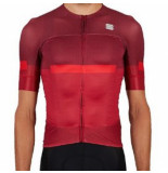 Sportful Fietsshirt evo jersey red rumba