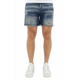 flaneur homme Blue jean short