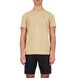 Airforce Basic outline star t-shirt latte
