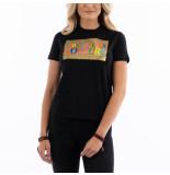 Versace Logo glitter t-shirt