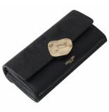 LUELLA GREY Layla molten clasp purse black