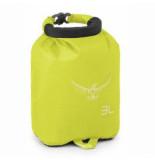 Osprey Draagzak ultralight drysack 3 electric lime