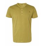 No Excess T-shirt granddad 2 coloured melange green