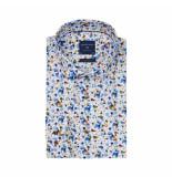 Profuomo Overhemd multicolor stippen