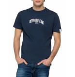 Replay T-shirt organic cotton blue