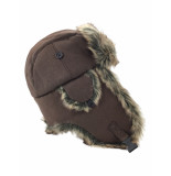 Antartica Aviator hat brown