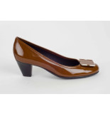 Love Pump met middenhak cognac