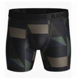 Björn Borg Boxershort björn borg men shorts performance bb textured block duck green