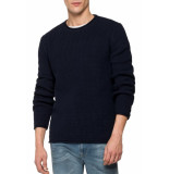 Replay Hyperflex knitwear navy