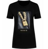 Nikkie T-shirt n6-336 padlock