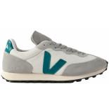Veja Rio branco sneakers wit groen