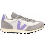 Veja Rio branco sneakers wit paars