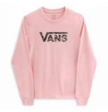 Vans Trui girls flying v floral powder pink