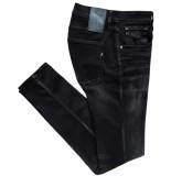 Replay Anbass hyperflex jeans zwart