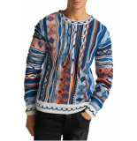 Carlo Colucci Knitwear multicolour white blue