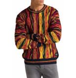 Carlo Colucci Knitwear multicolour black orange