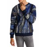 Carlo Colucci Knitwear multicolour navy blue