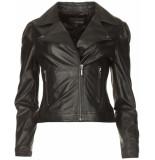 Studio AR Maxime biker jas zwart