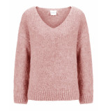 Knit-ted Pullover begonia