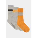 Penn & Ink W21f994 socks 3-pack grey melange