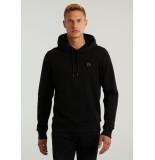 Chasin' 4113187001 harper e90 hooded sweater black -