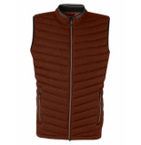 No Excess Bodywarmer padded stone red