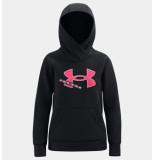 Under Armour Ua rival fleece logo hoodie 1366046-001