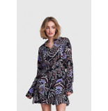 Alix The Label 2108964095 ladies woven big paisley blouse