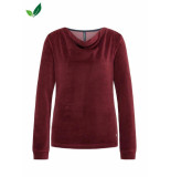 Tranquillo Sweater velours rhubarb