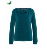 Tranquillo Sweater velours pine