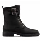 Clarks Original Enkellaars women orinoco2 lace black leather